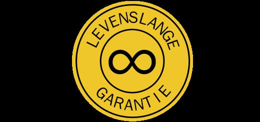 Levenslange garantie logo