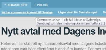 Blog-hyperlink-Retriever-Sverige-AB