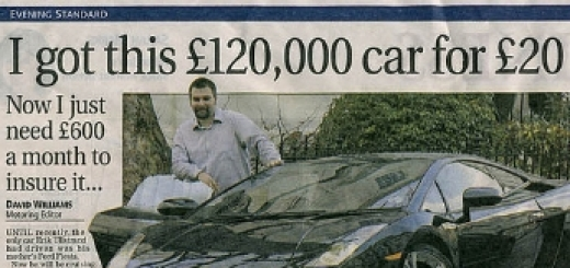 """Artikel van """"Evening Standard"""" gedeeld door mikey rocks - https://www.flickr.com/photos/35345424@N05/3726772240"""